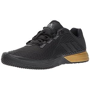 adidas Originals Men's Crazypower TR M Cross Trainer, Black/Utility Black/Tactile Gold, 11 Medium US