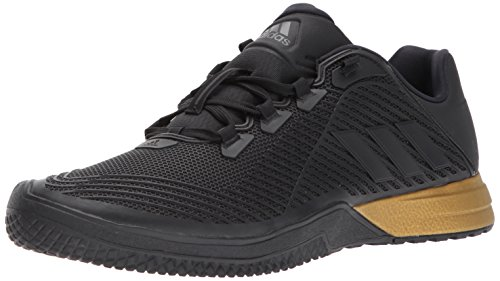 adidas Men's CrazyPower TR M Cross Trainer, Utility Black/Tactile Gold, 12.5 Medium US