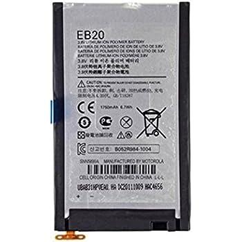 motorola droid razr battery. battery (eb20) for motorola droid razr \u0026 atrix hd a