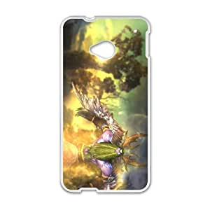 HTC One M7 Cell Phone Case White Malfurion Stormrage 002 YW5011966