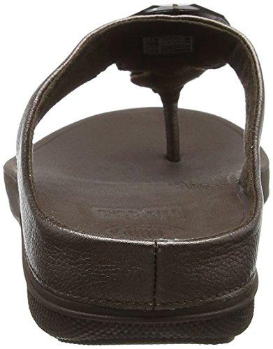Marrón Sandalias Con A Fitflop Mujer H14 T Tira bronze Z5Fx0xq
