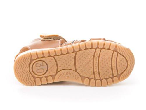 ANGELITOS , Jungen Sport- & Outdoor Sandalen beige beige 20 Taupe