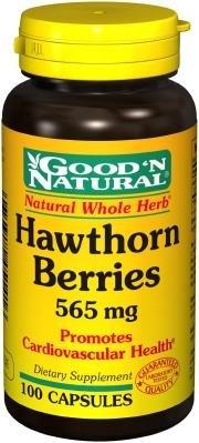 Good 'N Natural - Hawthorn Berries 565 mg. - 100 Capsules