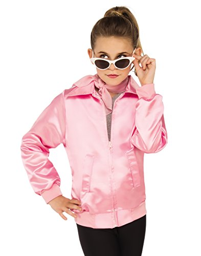 Rubies Grease Girls 50's Pink Ladies Costume Jacket M -