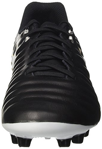 Nike Men's Tiempo Ligera Iv Ag-Pro Football Boots, Black (Black/White/Black/Metallic Vivid Gold), 8 UK