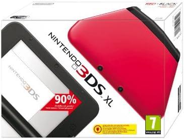 Nintendo 3DS - Consola XL, Color Rojo Y Negro: Amazon.es: Electrónica