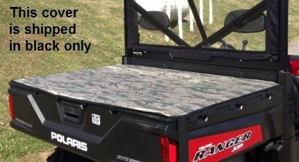 Polaris Ranger XP 900 Full-Size Black Bed Cover by Green Mountain Outdoors (Polaris Ranger Bed Cover compare prices)