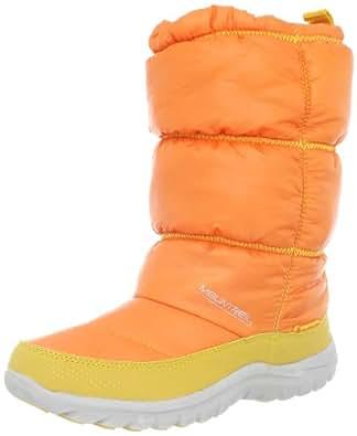 Mountrek Women's Laura Cabin Puff Snow Boot,Orange,6 M US