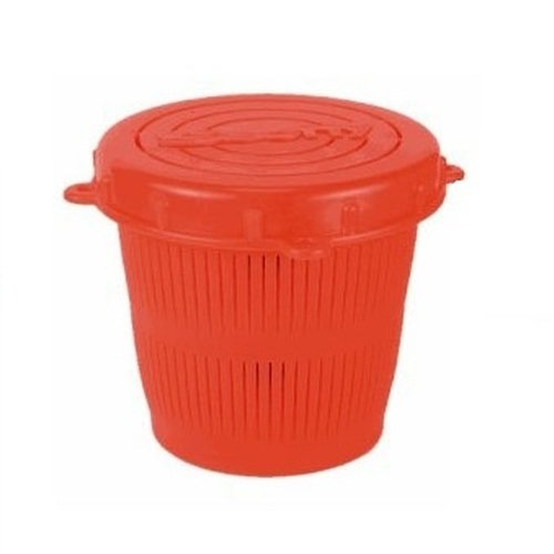 iner Bait Jar c/w Lid 1/2 Litre  Red (Crab Trap Bait)