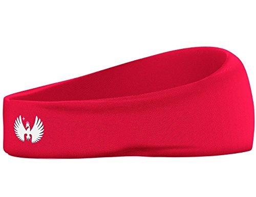Sports Fitness Headband - For Men and Women Premium Moisture Wicking Fabric Head Sportswear