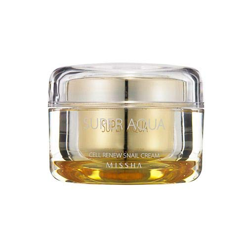 Korean moisturizer. MISSHA Super Aqua Cell Renew Snail Cream #koreanskincare
