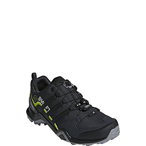 adidas outdoor Terrex Swift R2 Hiking Shoe - Men's Carbon/Black/Grey Three, 13.0