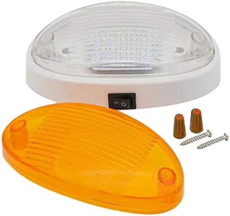 Tuneway 12V LED Light with Switch Caravan Motorhome Boat Awning Annex Tunnel Boot White