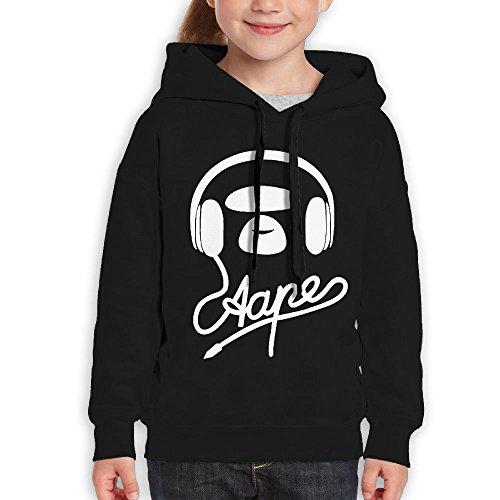 Price comparison product image FDFAF Teenager Youth Bape Hiking Vintage Hoodie Hoodies XL Black