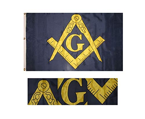 ALBATROS 3 ft x 5 ft Embroidered Freemason Mason Masonic for sale  Delivered anywhere in USA