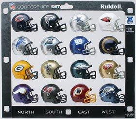Riddell NFC Conference Pocket Pro Helmet Set ()