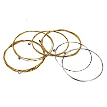 1 Set Metal Musical Instruments Accessories Acoustic Guitar 1st-6th Strings