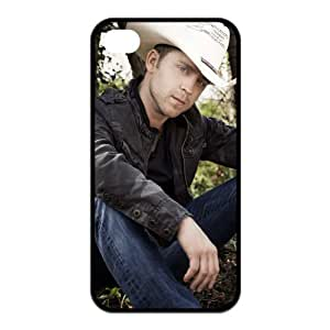 America Country Music Singer Justin Moore Custom Design TPU Case Protective Skin For Iphone 4 4s iphone4s-NY163