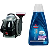 Bissell 3624 SpotClean Professional Portable Carpet Cleaner - Corded and BISSELL OXYgen BOOST Portable Machine...