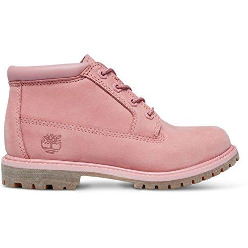 Nellie Pink Black Double Timberland Boots Women's Chukka Ankle 5wxqHzR