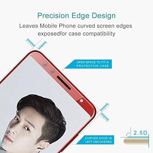 ALICEWU WJH 100 PCS for Huawei nova 2s 0.26mm 9H Surface Hardness 2.5D Curved Edge Tempered Glass Screen Protector