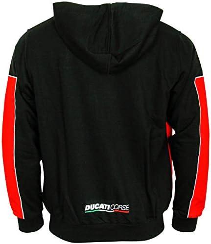 Ducati Corse Offizieller MotoGP Yoke Zip Hoodie - Rot - XXL