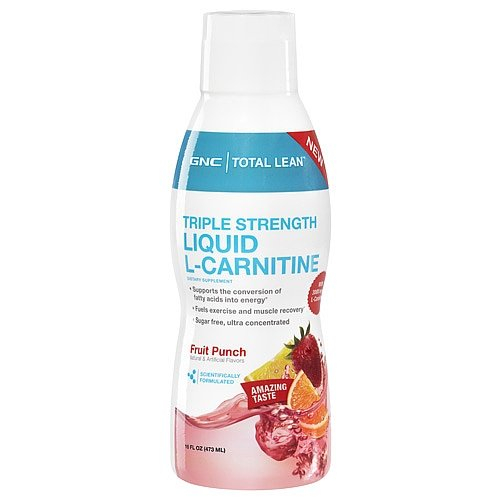 GNC Total Leantrade Triple Strength Liquid L-Carnitine - Fruit Punch 16 fl.oz.