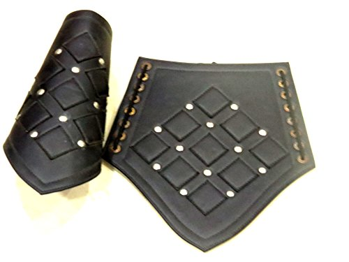 Nautical Faux Leather Arm Guards - Medieval