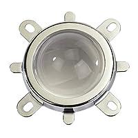 Lente de 44 mm + Reflector de 50 mm Base de la base del colimador + Soporte fijo para 20W-100W Lámpara de luz LED