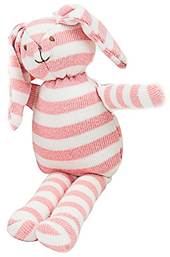 Under the Nile Baby Toy Scrappy Bunny Stuffed Animal 6