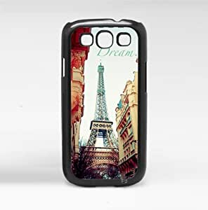 Dream Big Paris Destination Hard Snap on Phone Case (Galaxy s3 sIII)