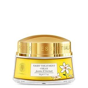 Forest Essentials Jasmine and Patchouli Night Treatment Cream, 50g