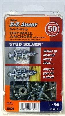 50PK#50 Stud Dry Anchor Itw Brands
