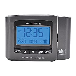 AcuRite 13239 Atomic Projection Clock with Indoor Temperature
