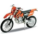 KTM 525 EXC, Welly Motocross Motorrad Modell 1:18