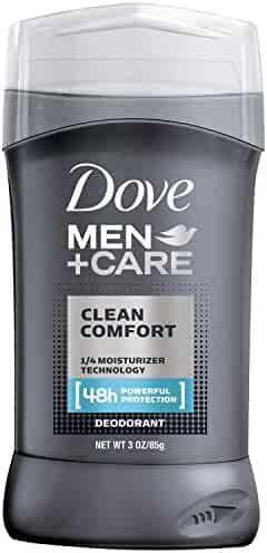 Dove Men+Care Deodorant Stick, Clean Comfort 3.0 oz, Pack of 2