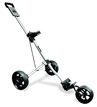 Long Ridge Alu Pro 3 Wheel Trolley - Carrito de golf de mano con ruedas (