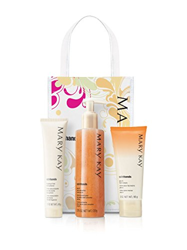 Mary Kay Satin Hands Set- Peach - Nina Night Cream
