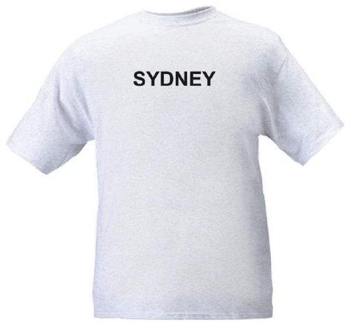 SYDNEY - City-series - Heather grey T-shirt - size - Nsw Bondi