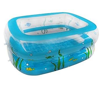 EverTrust (TM) grande tamaño playa piscina inflable para ...