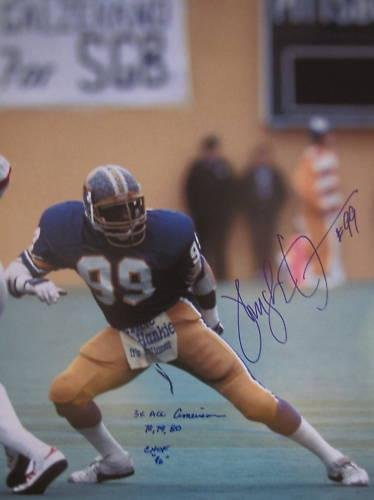 Signed Hugh Green Photograph - PITTSBURGH PANTHERS CHOF 96 16x20 - Autographed NFL (Pittsburgh Panthers Photograph)