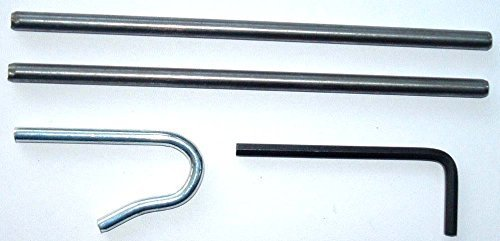 Silver Long Spigots 35mm New Garage Door Spares Parts Henderson