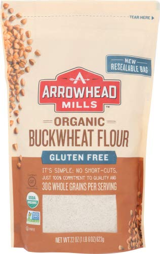 Arrowhead Mills Flour Buckwheat Org 22 Oz (Pack of 12)
