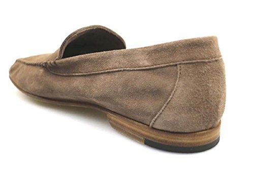 Zapatos Hombre Di Mella Mocasines Beige Ante au232