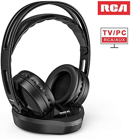 Wireless Headphones RCA Transmitter Rechargeable product image
