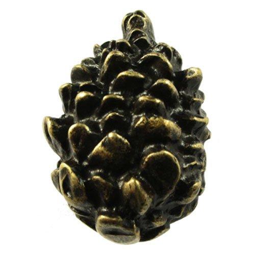(Sierra Lifestyles SL-681365 Pinecone Knob, Black/Bronze)