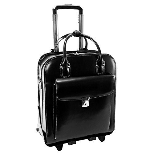 McKlein USA LA GRANGE W Series Vertical Detachable-Wheeled Briefcase in (Mcklein Usa Business Case)