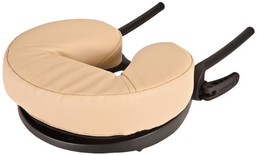 EARTHLITE Caress Self-Adjusting Massage Table Face Cradle - Innovative Massage Platform with Memory Foam Cushion (old (Earthlite Face Cradle)