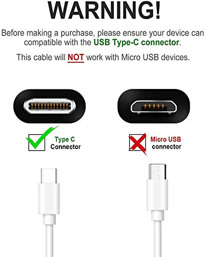 USB C to HDMI Cable 4K,USB Type C HDMI TV Adapter Cord for Samsung Galaxy S10,S9,S8 Plus,Note 9,Note 8,MacBook Pro 2018,Mac,iMac,Surface,HP, Asus,Chromebook,Dell XPS 15/13 Thunderbolt 3 to Monitor 6FT