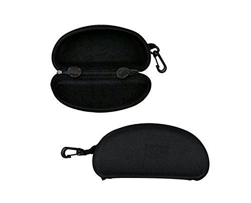 caja gafas de Hosaire de gafas moda gafas Zipper caja de la de de las sol de de caja vidrios Espectáculo Negro sol rTYPTXq